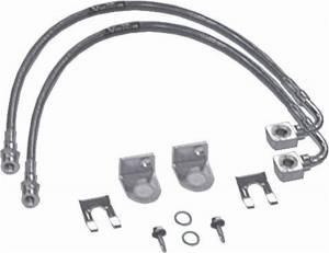 Axle Parts - Brakes - Rubicon Express - Rubicon Express Brake Line Set RE1540