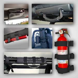Interior - Handles - Rugged Ridge - Rugged Ridge Interior Sport Bar Accessory Kit; 07-16 Jeep Wrangler JK 12496.01