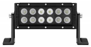 "KC HiLiTES - KC HiLiTES 6"" C SERIES C6 LED LIGHT BAR COMBO BEAM - KC #314 (SPOT/SPREAD BEAM) 314 - Image 3"