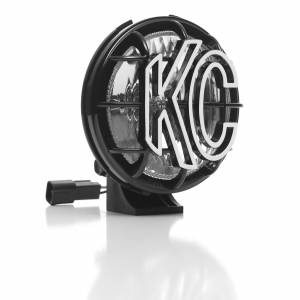 "KC HiLiTES - KC HiLiTES 5"" Apollo Pro Halogen Pair Pack System - Black - KC #451 (Spread Beam) 451 - Image 4"