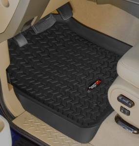 Interior - Floor Mats - Rugged Ridge - Rugged Ridge Floor Liners, Front, Black; 04-08 Ford F-150/06-08 Lincoln Mark LT 82902.01