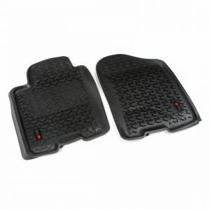 Drivetrain - Drivetrain Accessories - Rugged Ridge - Rugged Ridge Front Floor Liners Black; 12-16 Nissan 82905.20