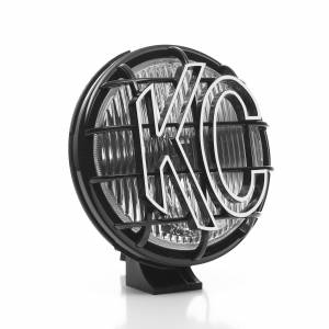 "KC HiLiTES - KC HiLiTES 6"" Apollo Pro Halogen Pair Pack System - Black - KC #152 (Fog Beam) 152 - Image 4"