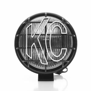 "KC HiLiTES - KC HiLiTES 6"" Apollo Pro Halogen Pair Pack System - Black - KC #152 (Fog Beam) 152 - Image 5"