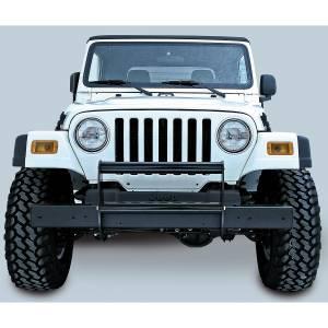 Rugged Ridge Brush Guard, Gloss Black; 97-06 Jeep Wrangler TJ 11511.02