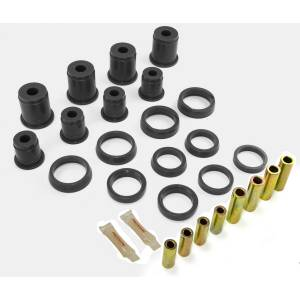 Components - Coil Springs - Rugged Ridge - Rugged Ridge Front Control Arm Bushing Kit, Black; 84-01 Jeep Cherokee XJ 1-202BL