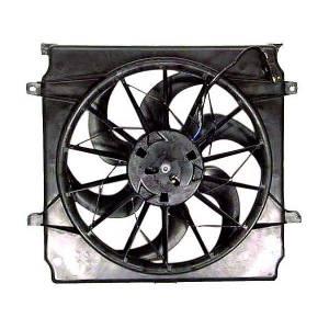 Engine Parts - Cooling - Omix-Ada - Omix-Ada Fan Assembly, 2.4, 3.7L; 02-07 Jeep Liberty KJ 17102.55
