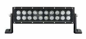 "Lighting - Off Road Lights - KC HiLiTES - KC HiLiTES 10"" C Series C10 LED Light Bar Combo Beam - KC #334 (Spot/Spread Beam) 334"