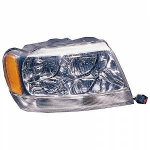 Lighting - Headlights - Omix-Ada - Omix-Ada Right Headlight; 99-04 Jeep Grand Cherokee WJ 12402.10