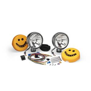 "Lighting - Off Road Lights - KC HiLiTES - KC HiLiTES 6"" Daylighter Halogen Pair Pack System - Chrome - KC #237 (Spot Beam) 237"