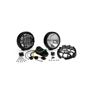"""KC HiLiTES - KC HiLiTES 6"""" SlimLite Halogen Pair Pack System - Black - KC #124 (Spread Beam) 124 - Image 3"""