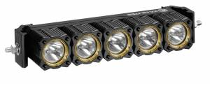 "Lighting - Off Road Lights - KC HiLiTES - KC HiLiTES 10"" KC FLEX Array LED Light Bar System - Spot Beam - KC #273 273"