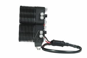 KC HiLiTES - KC HiLiTES KC FLEX Quad LED Combo Beam System (pr) 280 - Image 1