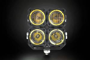 KC HiLiTES - KC HiLiTES KC FLEX Quad LED Combo Beam System (pr) 280 - Image 2