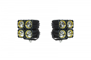 KC HiLiTES - KC HiLiTES KC FLEX Quad LED Combo Beam System (pr) 280 - Image 3