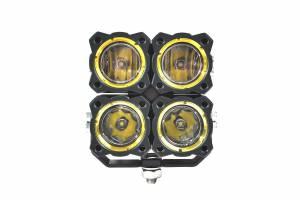 KC HiLiTES - KC HiLiTES KC FLEX Quad LED Combo Beam System (pr) 280 - Image 4