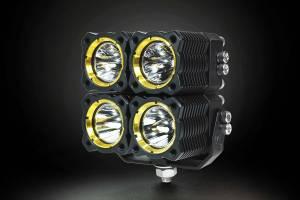 KC HiLiTES - KC HiLiTES KC FLEX Quad LED Combo Beam System (pr) 280 - Image 5