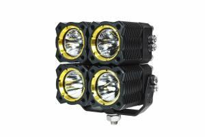 KC HiLiTES - KC HiLiTES KC FLEX Quad LED Combo Beam System (pr) 280 - Image 6