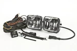 KC HiLiTES - KC HiLiTES Gravity LED G34 Fog Beam SAE/ECE Pair Pack Light System - KC #432 432 - Image 1