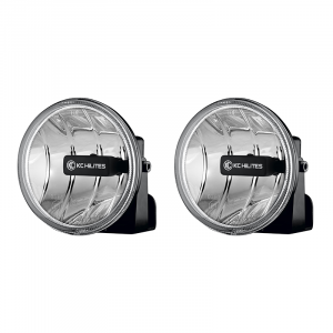 KC HiLiTES - KC HiLiTES Gravity LED G4 Fog Light Pair Pack System #495 - ( Amber Universal ) 495 - Image 1