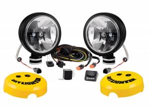 "KC HiLiTES - KC HiLiTES 6"" Daylighter with Gravity LED G6 SAE Driving Beam Black Pair Pack - #653 653 - Image 3"