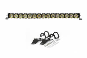 "Lighting - Off Road Lights - KC HiLiTES - KC HiLiTES 30"" KC FLEX LED Light Bar Mounting Kit for Polaris RZR - #91322 91322"