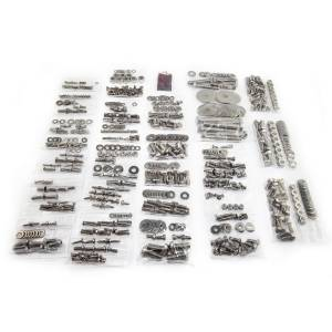 Exterior - Misc. Accessories - Omix-Ada - Omix-Ada Body Fastener Kit, Soft Top; 87-95 Jeep Wrangler YJ 12215.12