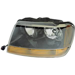 Lighting - Headlights - Omix-Ada - Omix-Ada Left Headlight; 99-04 Jeep Grand Cherokee WJ 12402.09