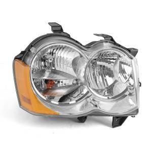 Lighting - Headlights - Omix-Ada - Omix-Ada RH Headlight without Fog Lights; 05-10 Jeep Grand Cherokee WK 12402.22