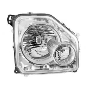 Omix-Ada LH Headlight with Fog Light; 08-10 Jeep Liberty KK 12402.24