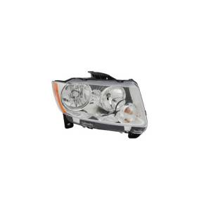Lighting - Headlights - Omix-Ada - Omix-Ada Headlight Assembly, Right; 11-13 Jeep Grand Cherokee WK 12402.26