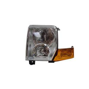Lighting - Headlights - Omix-Ada - Omix-Ada Headlight Assembly, Left; 06-10 Jeep Commander XK 12402.29