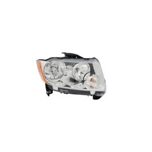 Lighting - Headlights - Omix-Ada - Omix-Ada Headlight Assembly, Right; 11-14 Jeep Compass MK 12402.32