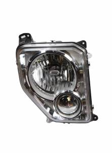 Omix-Ada Headlamp, Right, w/o Fog; 08-12 Jeep Liberty KK 12402.34