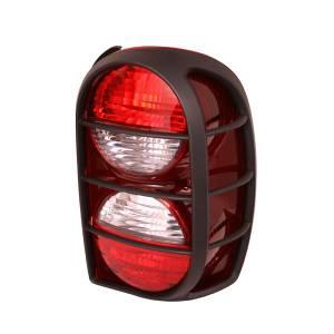 Lighting - Tail Lights - Omix-Ada - Omix-Ada Left Tail Light with Air Dam; 05-07 Jeep Liberty KJ 12403.31