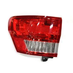 Lighting - Tail Lights - Omix-Ada - Omix-Ada Tail Light, Left; 11-13 Jeep Grand Cherokee WK 12403.46