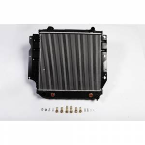 Transmission - Misc. Parts - Omix-Ada - Omix-Ada Radiator, 1 Row; 87-04 Jeep Wrangler YJ/TJ 17101.13