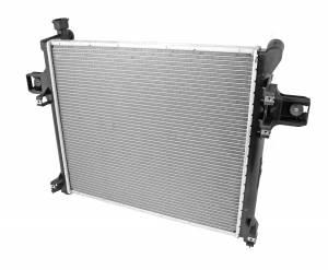 Omix-Ada - Omix-Ada Radiator, 1 Row 3.7L/5.7L, with Automatic ; 11-12 Jeep Grand Cherokee 17101.44
