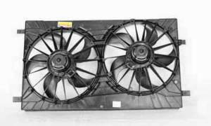 Engine Parts - Cooling - Omix-Ada - Omix-Ada Electric Cooling Fan Assembly; 07-11 Jeep Compass/Patriot 17102.58