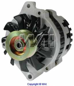 Engine Parts - Misc. Engine Parts - Omix-Ada - Omix-Ada Alternator, 105 Amp; 87-90 Jeep Wrangler/Cherokee YJ/XJ 17225.04
