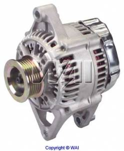 Electrical - Alternator & Accessories - Omix-Ada - Omix-Ada Alternator, 117 Amp, 4.0L; 99-00 Jeep Cherokee/Wrangler XJ/TJ 17225.13