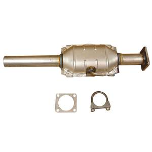 Exhaust, Mufflers & Tips - Installation & Accessory Hardware - Omix-Ada - Omix-Ada Catalytic Converter; 84-90 Jeep Cherokee/Wrangler XJ/YJ 17601.05