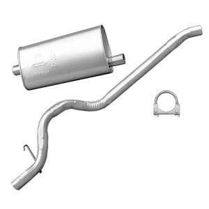 Exhaust, Mufflers & Tips - Mufflers - Omix-Ada - Omix-Ada Muffler/Tailpipe; 93-95 Jeep Cherokee XJ 17611.02
