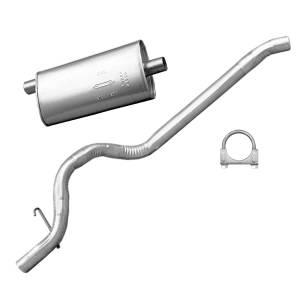 Exhaust, Mufflers & Tips - Mufflers - Omix-Ada - Omix-Ada Muffler and Tailpipe; 87-92 Jeep Cherokee XJ 17611.05