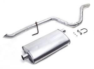 Exhaust, Mufflers & Tips - Mufflers - Omix-Ada - Omix-Ada Muffler/Tailpipe; 93-95 Jeep Grand Cherokee ZJ 17611.06