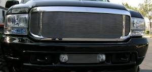 T-Rex - T-Rex 1999-2004 Super Duty  BILLET ALUMINUM POLISHED Grille 20570