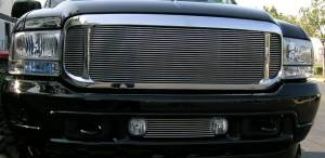 T-Rex - T-Rex 2000-2004 Excursion  BILLET ALUMINUM POLISHED Grille 20585