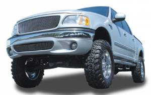 T-Rex - T-Rex 1997-2002 F150 & Expedition  BILLET ALUMINUM POLISHED Grille 30580
