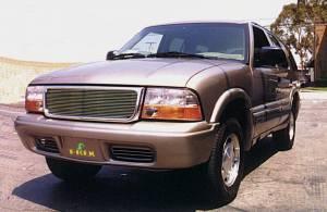 T-Rex - T-Rex 1998-2004 Sonoma / Envoy  ASSY ALUMINUM POLISHED Grille 50380