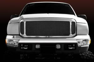 T-Rex - T-Rex 1999-2004 Super Duty  Upper Class STEEL BLACK Grille 51571